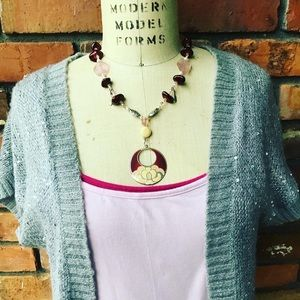 Lovely Lotus Handmade Necklace